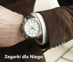 propozycje zegarków dla Niego
