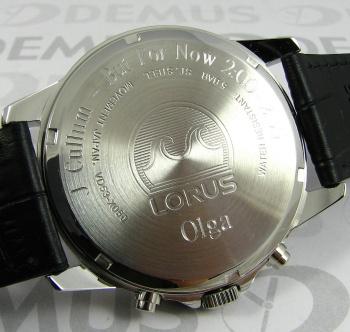 Grawer na zegarku Lorus