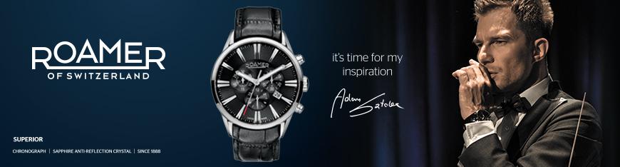 Kolekcja męskich zegarów Roamer od Adama Sztaby