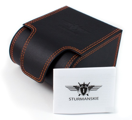 Oryginalne pudełko Sturmanskie oraz gwarancja