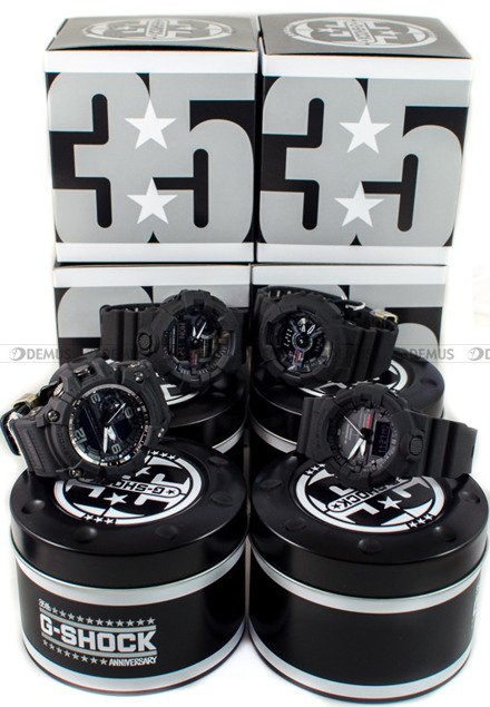 Zegarek Męski G-SHOCK 35TH ANNIVERSARY LIMITED NO COMPLY GA-735A-1AER