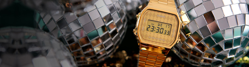 CASIO RETRO BANER