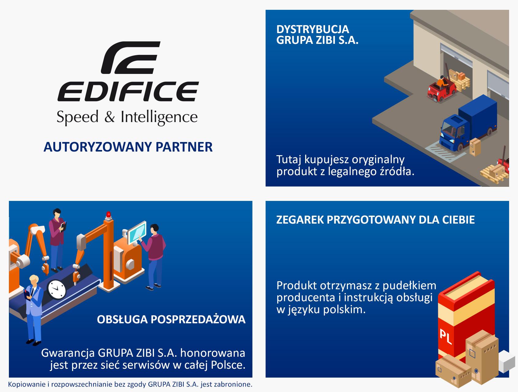 autoryzowany partner EDIFICE