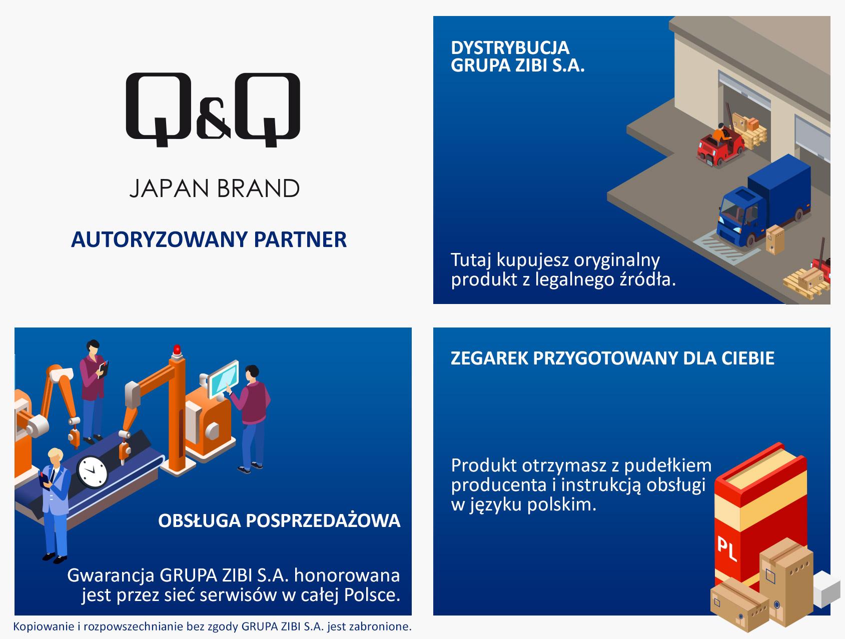 certyfikat sklep Demus jako autoryzowanego sprzedawcy Q&Q