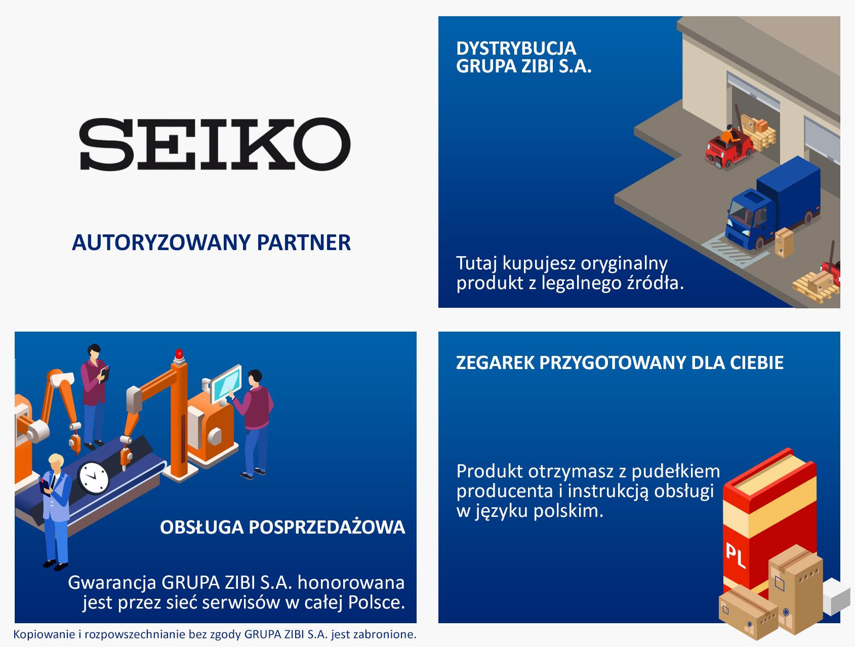 certyfikat sklep Demus jako autoryzowanego sprzedawcy SEIKO