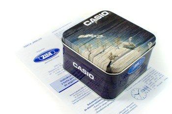 Zdjęcie pudełka i gwarancji CASIO