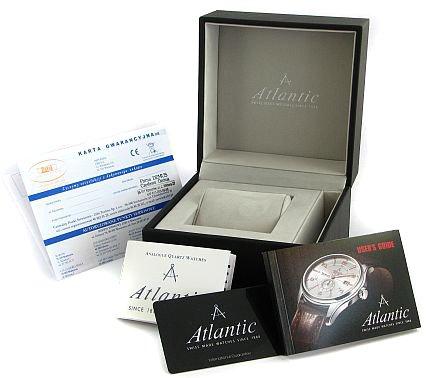 Zdjęcie pudełka i gwarancji Atlantic