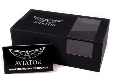 Zdjęcie pudełka i gwarancji AVIATOR