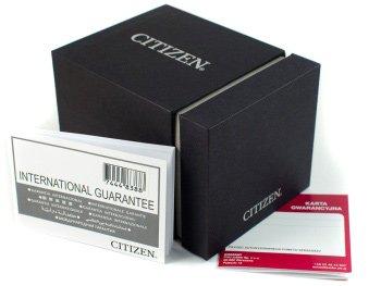 Zdjęcie pudełka i gwarancji CITIZEN