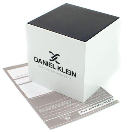 Zdjęcie pudełka i gwarancji DANIEL KLEIN