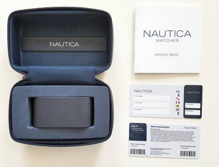 Zdjęcie pudełka i gwarancji NAUTICA