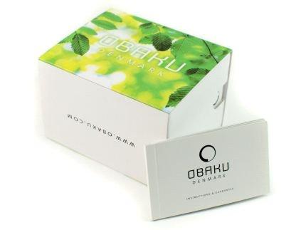 Zdjęcie pudełka i gwarancji OBAKU DENMARK