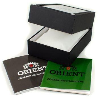 Zdjęcie pudełka i gwarancji ORIENT