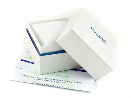 Zdjęcie pudełka i gwarancji PULSAR