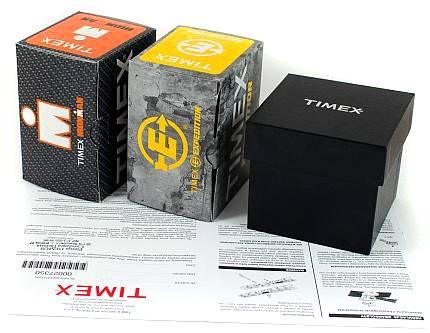 Zdjęcie pudełka i gwarancji TIMEX