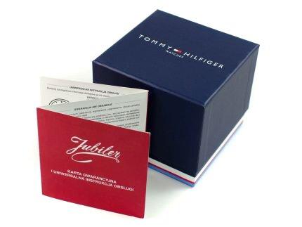 Zdjęcie pudełka i gwarancji TOMMY HILFIGER