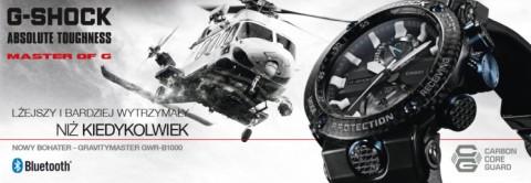 9342509f9586cf Najnowszy G-SHOCK Gravitymaster z karbonową kopertą ...