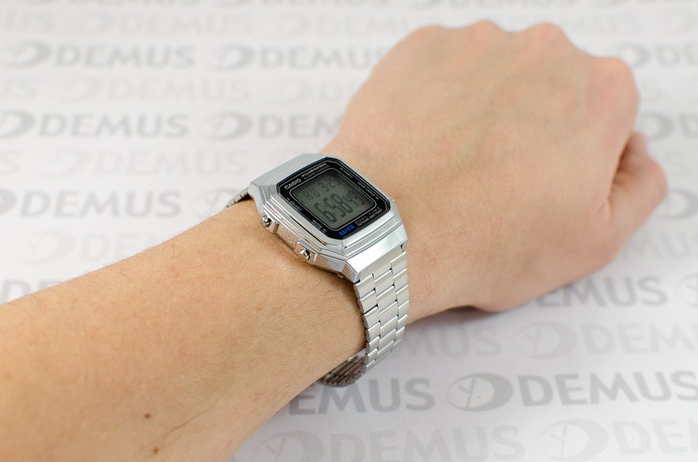 Watch Montre Orologio Digital 1aes A178wea Unisex Retro Silver Casio nO0m8Nwv