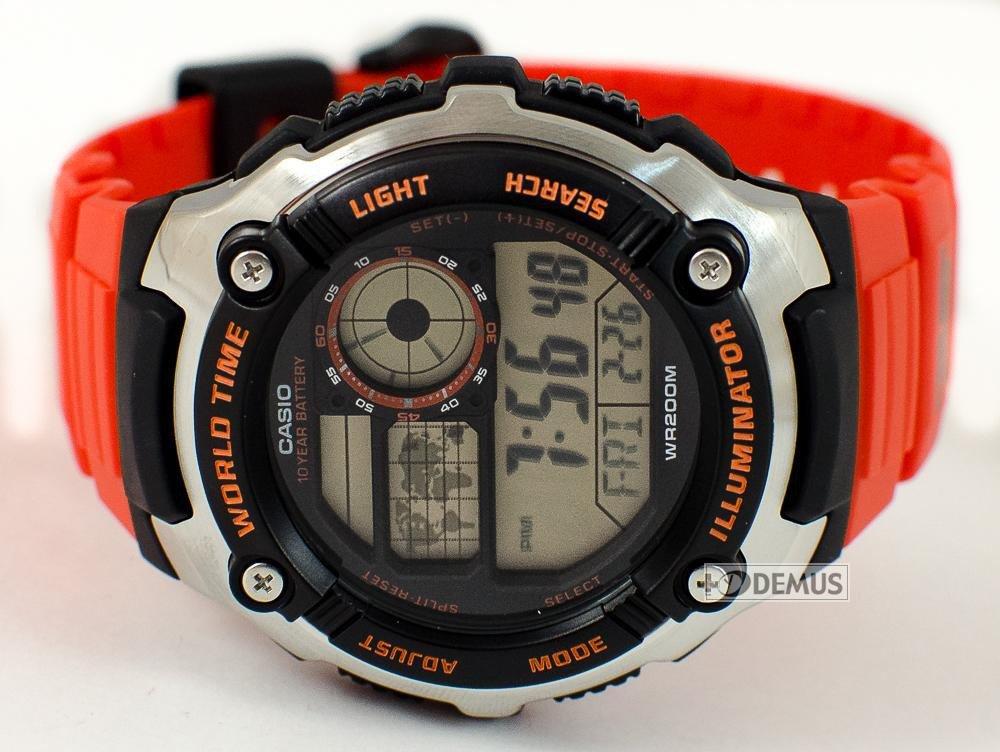 9c9aa8916d82 Casio diver watch ORANGE BLACK immersione plongeé reloj orologio g ...