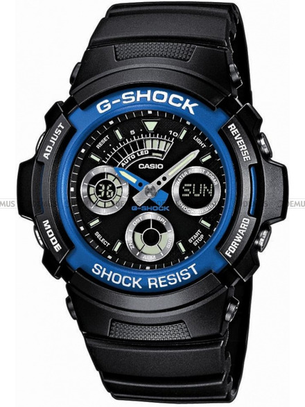 Zegarek Casio Blue Devil AW 591 2AER