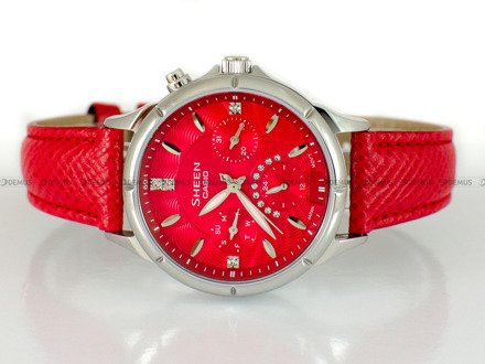 Zegarek Casio Sheen SHE 3047L 4AUER