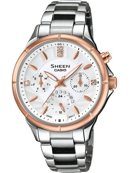 Zegarek Casio Sheen SHE 3047SG 7AUER
