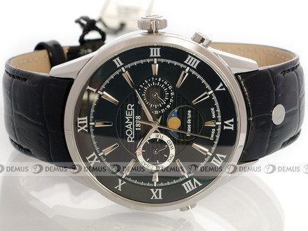 Zegarek Roamer Superior Moonphase 508821 41 53 05