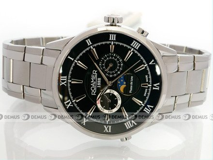Zegarek Roamer Superior Moonphase 508821 41 53 50