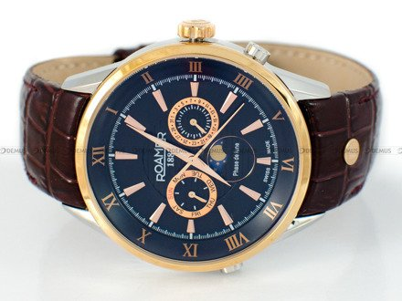 Zegarek Roamer Superior Moonphase 508821 49 53 05